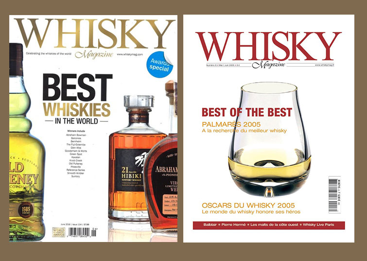 INTRODUCED WHISKY MAGAZINE IN INDIA