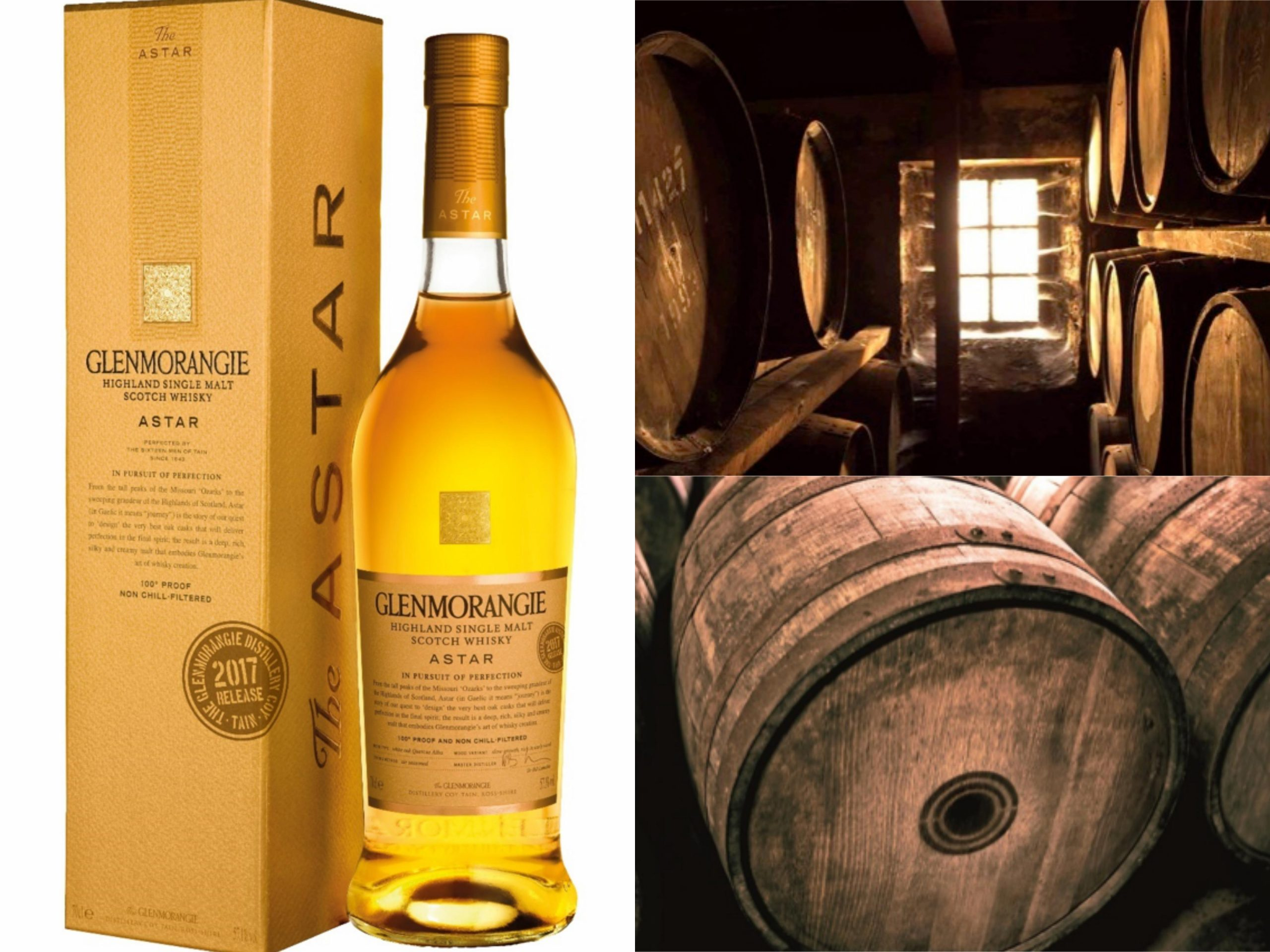 Glenmorangie Astar returns as a 2017 limited edition release…