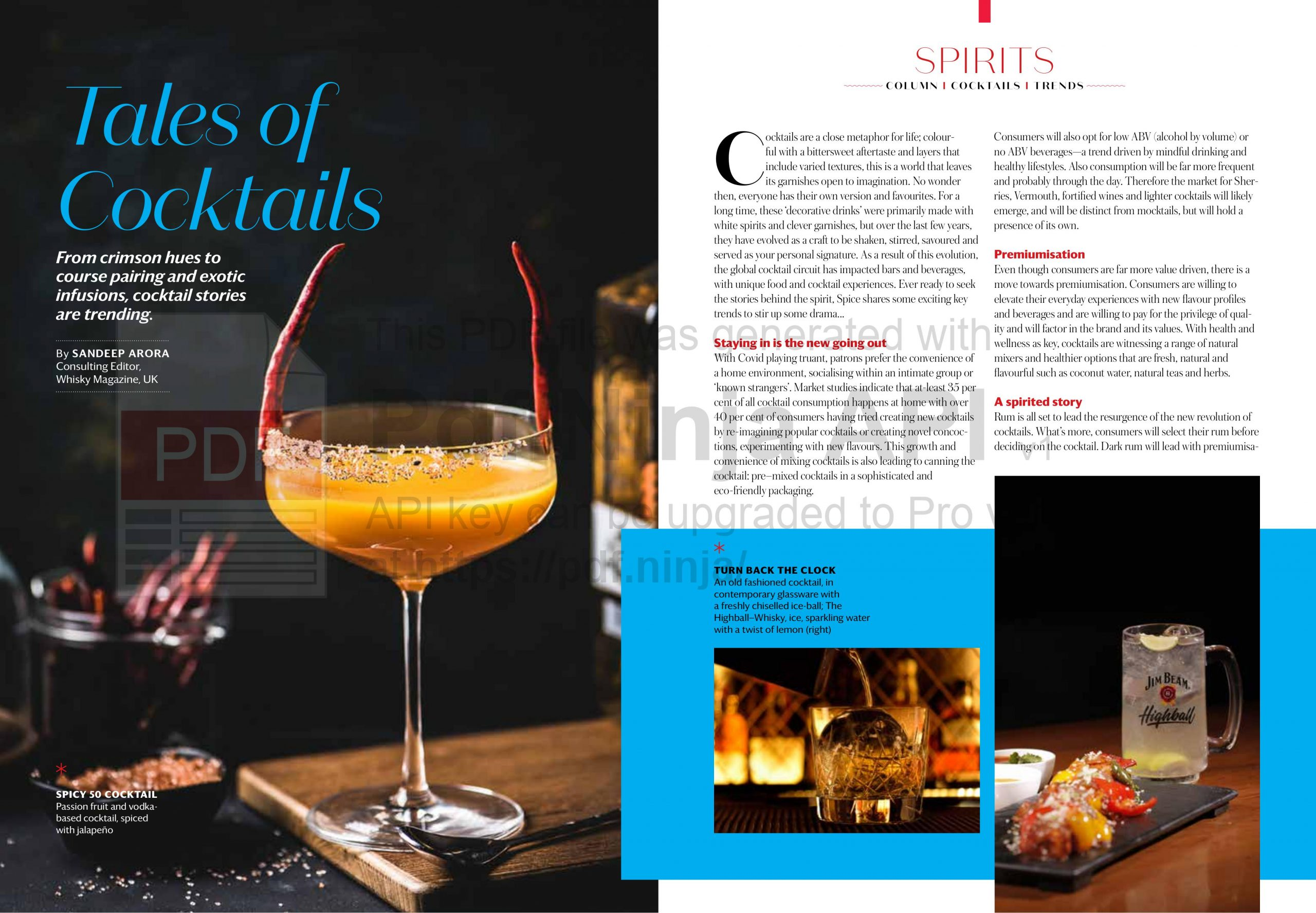 TALES OF COCKTAILS